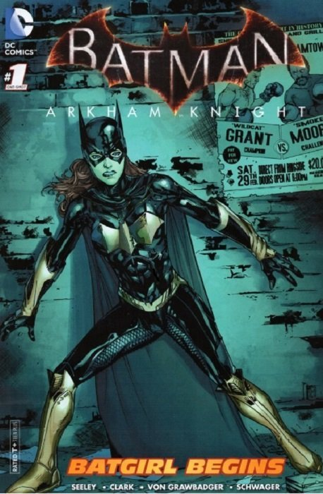 SDCC Promo Comic Batman Arkham City #1 of 5 NM Prequel Video Game First NM RARE