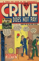 Lev Gleason Publications's Crime Does Not Pay Issue # 70b