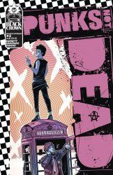IDW Publishing's Punks Not Dead Issue # 2b