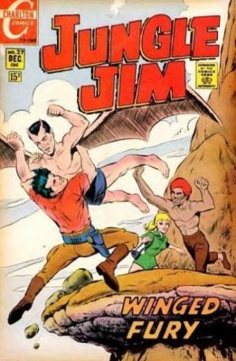 Jungle Jim comic issue #25 - 51 years old - 1966