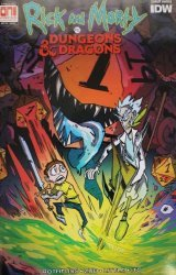 IDW Publishing's Rick and Morty vs Dungeons & Dragons Issue # 1pax west