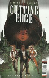 Titan Comics's Cutting Edge: The Devil's Mirror Issue # 1b
