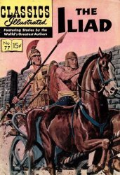 Gilberton Publications's Classics Illustrated #77: The Illiad Issue # 1g
