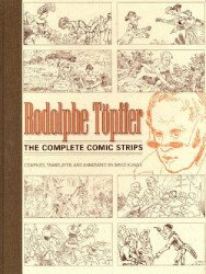 University Press of Mississippi's Rodolphe Topffer: Complete Comic Strips Hard Cover # 1