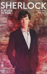 Titan Comics's Sherlock: A Study in Pink Issue # 5b
