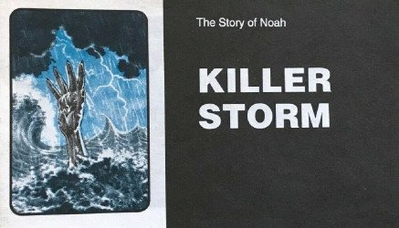 Chick Publications's Killer Storm Issue nn-2nd print