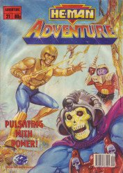 London Editions Magazines's He-Man Adventure Issue # 21