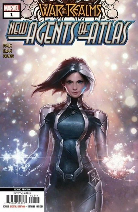 WAR OF THE REALMS NEW AGENTS OF ATLAS #1 COVER A FIRST 1ST APPEARANCES NM WAVE