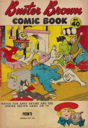 Buster Brown Shoes's Buster Brown Comics Issue # 40pecks