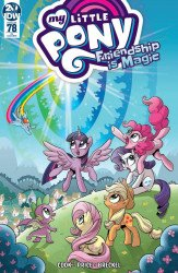 IDW Publishing's My Little Pony: Friendship is Magic Issue # 78ri