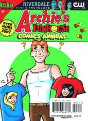 Archie Comics Group's Archie's Funhouse Double/Comics Digest Issue # 24