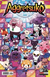 Oni Press's Aggretsuko Issue # 5b