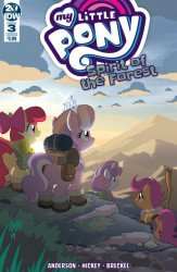 IDW Publishing's My Little Pony: Spirit Of The Forest Issue # 3b