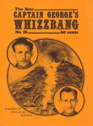 Memory Lane Publications's New Captain George's Whizzbang Issue # 16