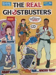 Marvel UK's The Real Ghostbusters Issue # 17