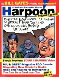Ross Periodicals's Harpoon: A Serious Journal of Humor Issue preview