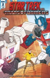 IDW Publishing's Star Trek vs Transformers Issue # 2