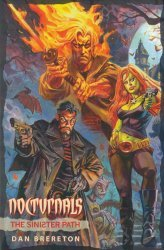 Big Wow Art's Nocturnals: The Sinister Path Soft Cover # 1c