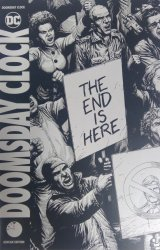 DC Comics's The Road to Doomsday Clock Issue ashcan