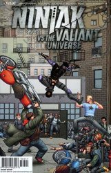 Valiant Entertainment's Ninjak vs The Valiant Universe Issue # 4d