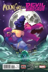Marvel's Moon Girl and Devil Dinosaur Issue # 7