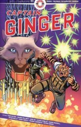 Ahoy Comics's Captain Ginger Issue # 3