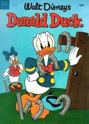 Dell Publishing Co.'s Donald Duck Issue # 32