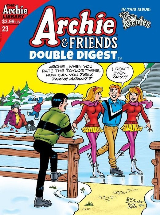 Archie Comics Groups Friends Double Digest Issue 23