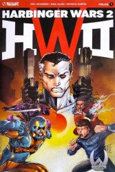 Valiant Entertainment's Harbinger Wars 2: Prelude Issue # 1wcc