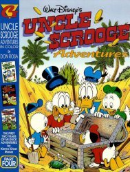 Gladstone's Uncle Scrooge Adventures in Color by Don Rosa Hard Cover # 4