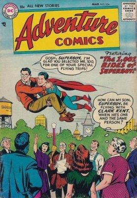 DC COMICS Adventure comics no 336 Sept 1965 12 cents issue USA