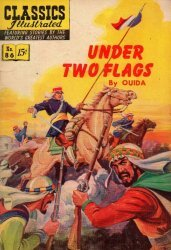 Gilberton Publications's Classics Illustrated #86: Under Two Flags Issue # 2