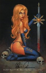 Coffin Comics's Lady Death: Moments Issue # 1b