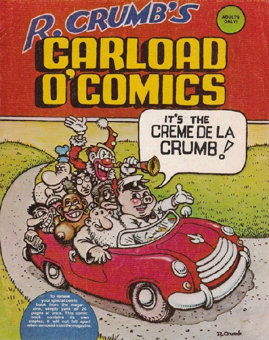kitchen sink comics r crumb s carload o comics 1b kitchen sink comix 2631