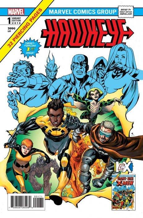 Hawkeye 1g (Marvel Comics) - ComicBookRealm.com