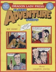 Dragon Lady Press's Classic Adventure Strips Issue # 12