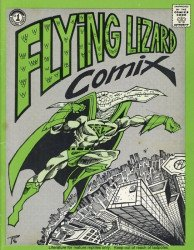 Terry Dactyl's Flying Lizard Comix Issue # 1
