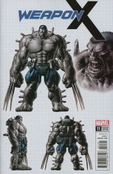 Marvel Comics's Weapon X Issue # 11b