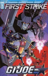 IDW Publishing's G.I. Joe: First Strike Issue # 1b