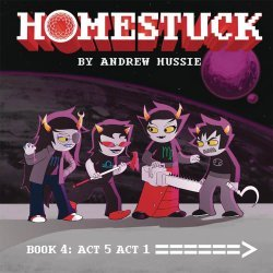 Viz Media's Homestuck Hard Cover # 4