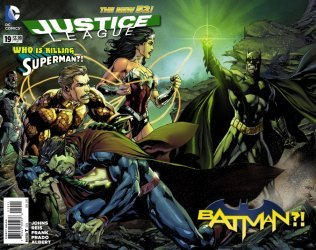 DC Comics's Justice League Issue # 19