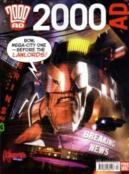 Rebellion's 2000 AD Issue # 1897