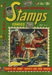 Youthful Magazines's Stamps Comics Issue # 4