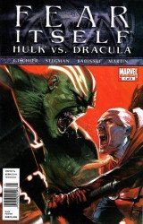 Marvel Comics's Fear Itself: Hulk vs Dracula Issue # 1b