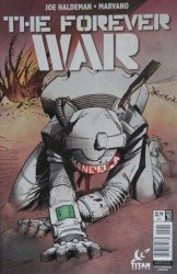 Titan Comics's The Forever War Issue # 2b