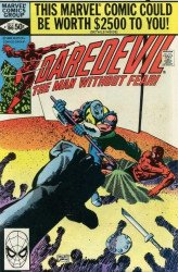Marvel Comics's Daredevil Issue # 166