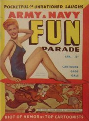 Harvey Publications's Army and Navy Fun Parade Issue V4-1