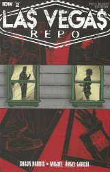 IDW Publishing's Las Vegas Repo Issue # 2