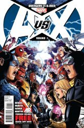 Marvel's Avengers vs X-Men Issue # 1