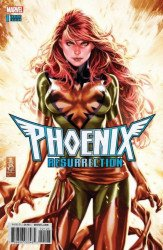 Marvel Comics's Phoenix Resurrection: The Return of Jean Grey Issue # 1brooks-a